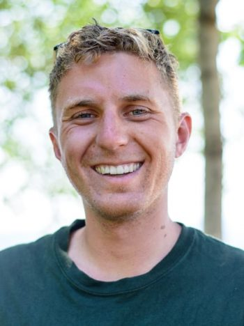 jackson miller - canoe instructor at camp cody