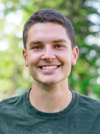 Jared Lewis, staff member at Camp Cody