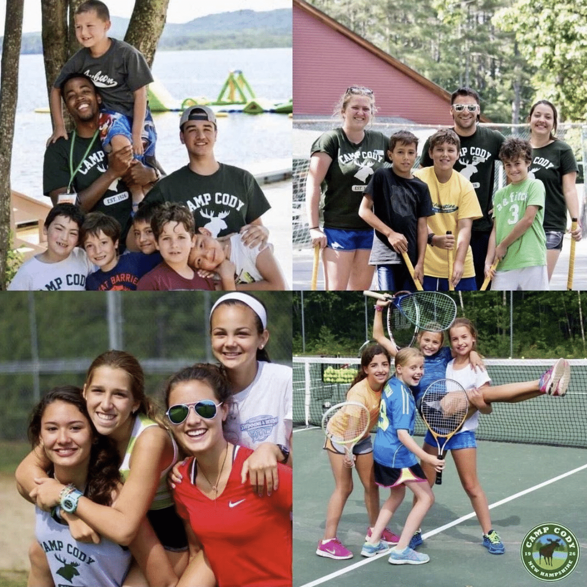 summer campers at Camp Cody
